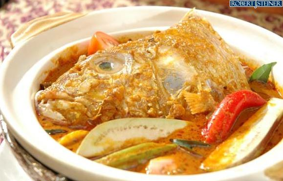 Singapore Foods – Fish Head Curry
