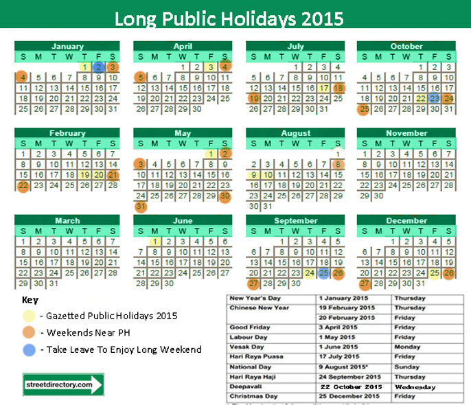 2015 calendar printable one page with holidays - North.fourthwall.co