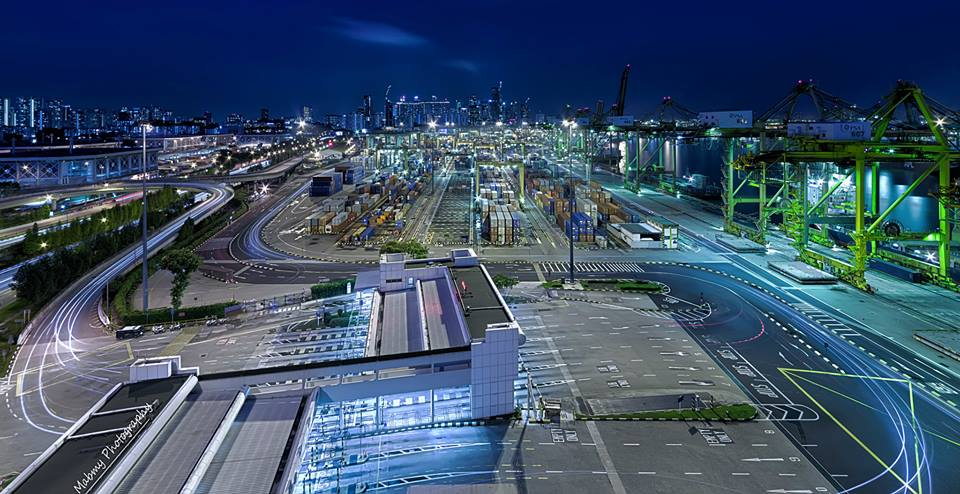 Keppel Port Night View