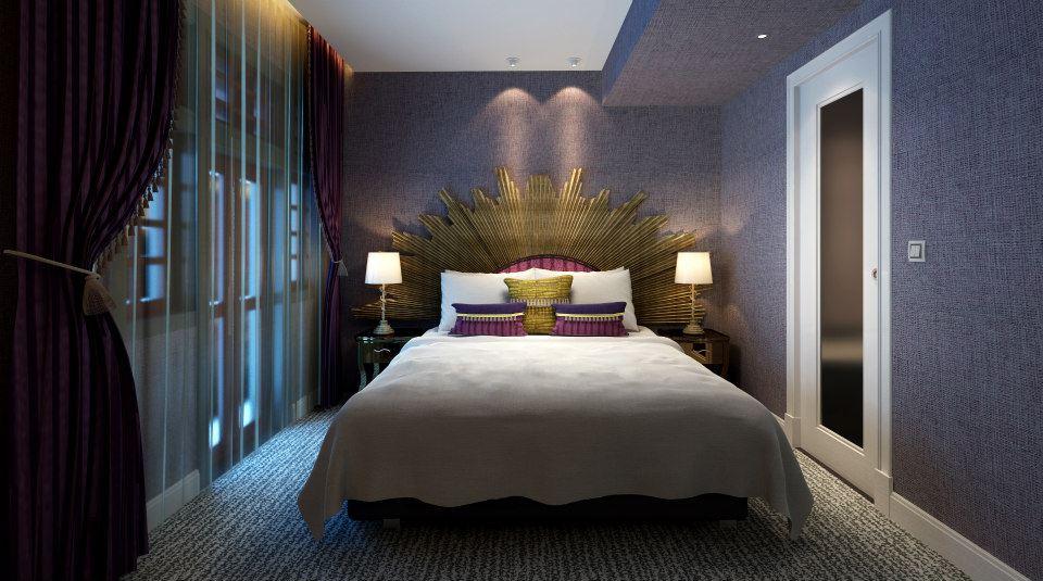 Scarlet Romantic Room